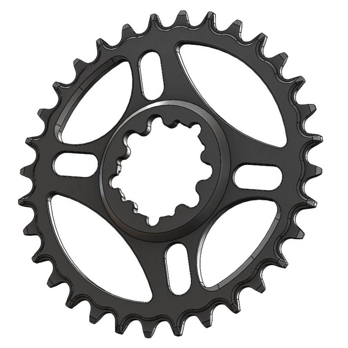 C28 Pilo Chainring Narrow Wide 36T for Sram direct mount.