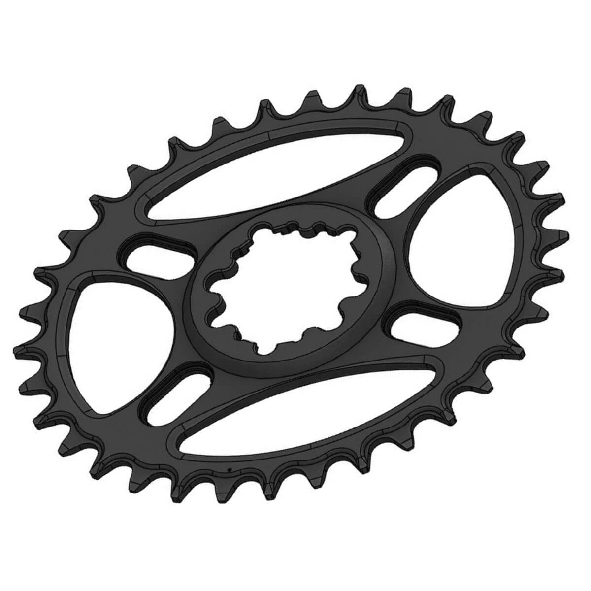 C20 Chainring Elliptic Narrow Wide 34T for Sram direct dub. Offset 3mm. SRAM Eagle.