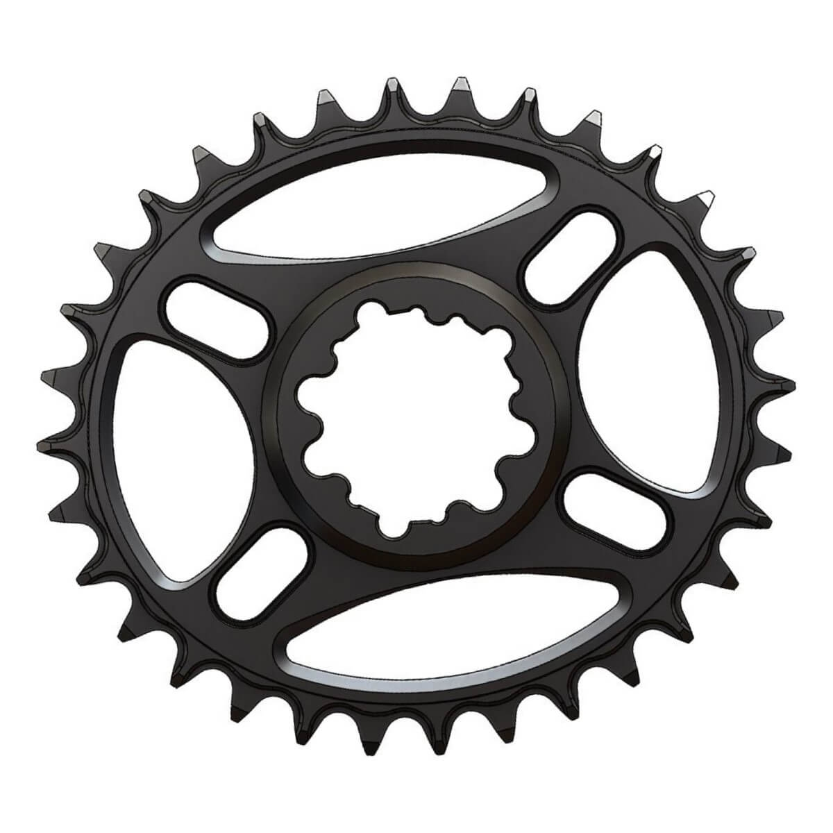 C21 Chainring Elliptic Narrow Wide 32T for Sram direct dub. Offset 3mm. SRAM Eagle