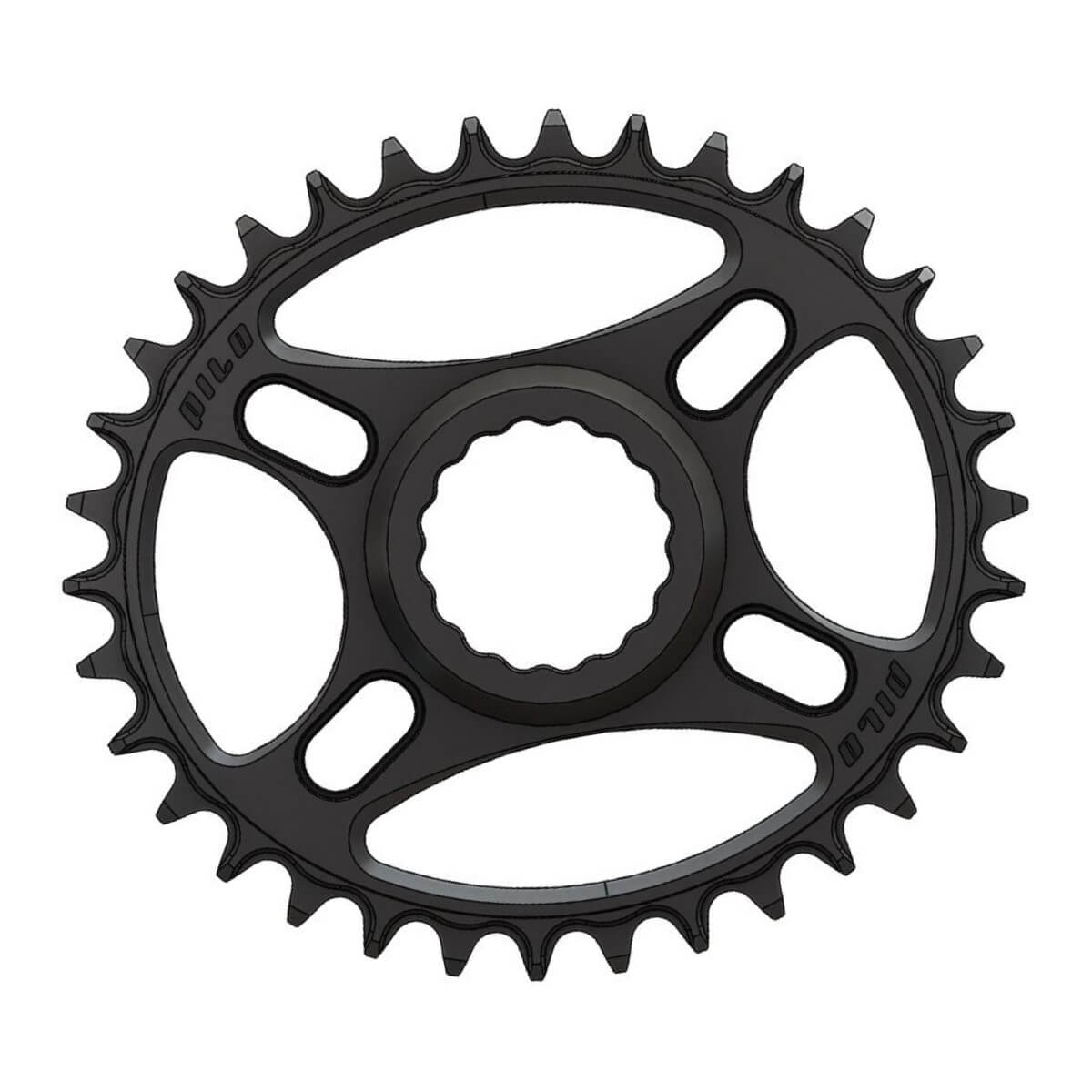 C27 Pilo Chainring Elliptic Narrow Wide 34T for Race Face direct CINCH