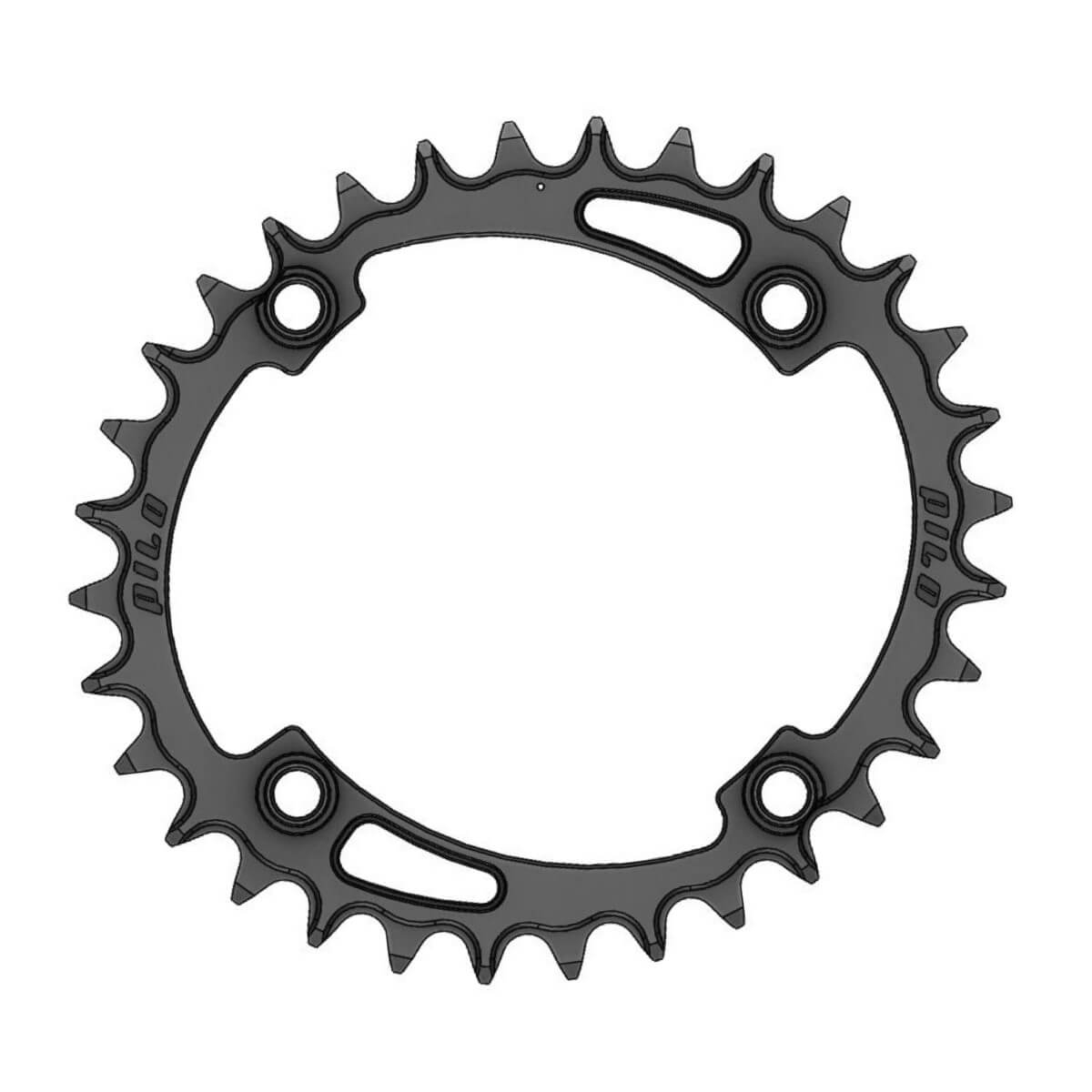 C30 Pilo Chainring Elliptic Narrow Wide 32T for Shimano 104BCD Asymmetric