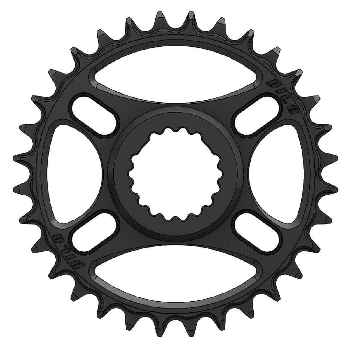Pilo C65 Chainring Narrow Wide 32T for Cannondale, FSA direct mount