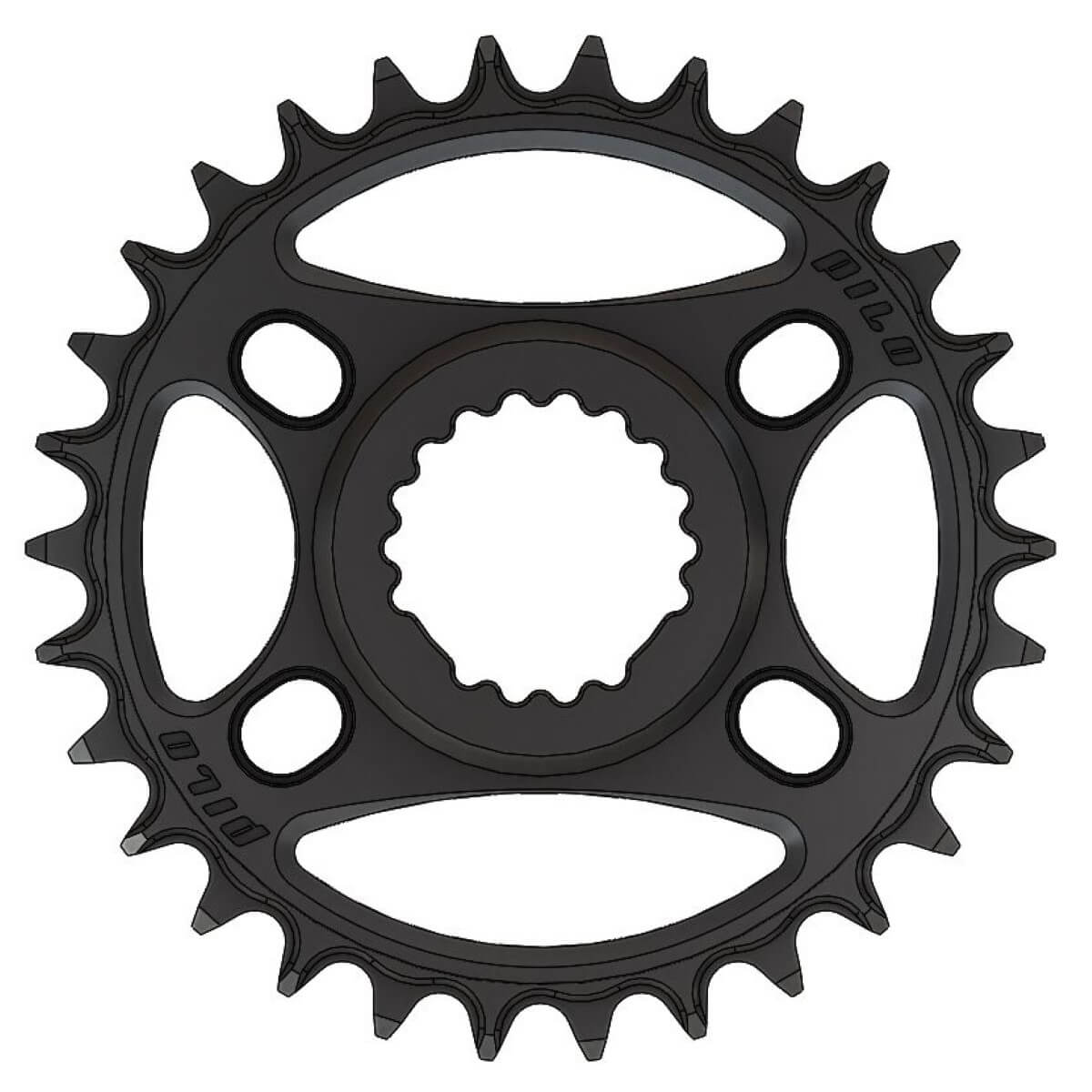 Pilo C67 Chainring Narrow Wide 30T for Cannondale, FSA direct mount