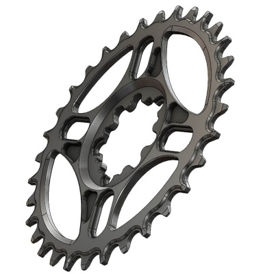 C28 Chainring Narrow Wide 36T for Sram direct mount. Offset 3 mm. 10, 11, 12 sp.
