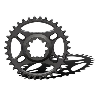 C16 Chainring Narrow Wide 34T for Sram direct mount. Offset 6 mm. Fits Sram Eagle. 2
