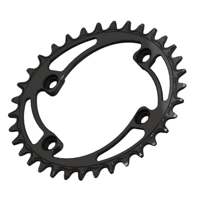 C25 Chainring Elliptic Narrow Wide 34T for Shimano 96BCD Asymmetric. 2