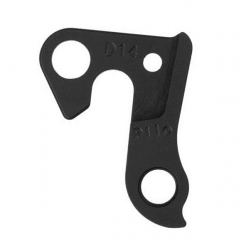 D14 derailleur hanger for Mongoose, Haro, KHS (#73-079-170), Focus, VSF, Gazelle, Azonic, Claud Butler, Falcon, Optima, Felt, Shogun, Voodoo, Apollo, Sette